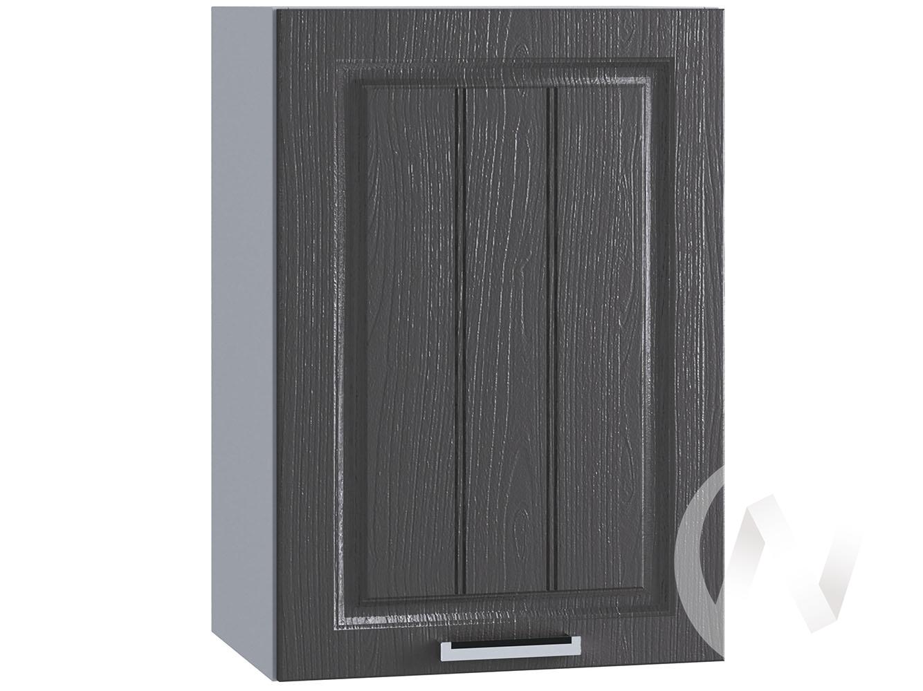 "Кухня ""Луксор"": Шкаф верхний 450, ШВ 450 (Клён серый/корпус белый)"