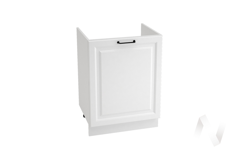 "Кухня ""Ницца Royal"": Шкаф нижний под мойку 600М, ШНМ 600М (Blanco/корпус белый)"