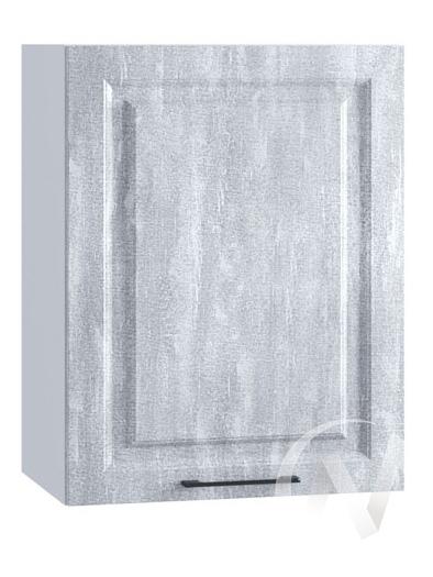 "Кухня ""Либерти"": Шкаф верхний 500, ШВ 500 (Холст натуральный/корпус белый)"