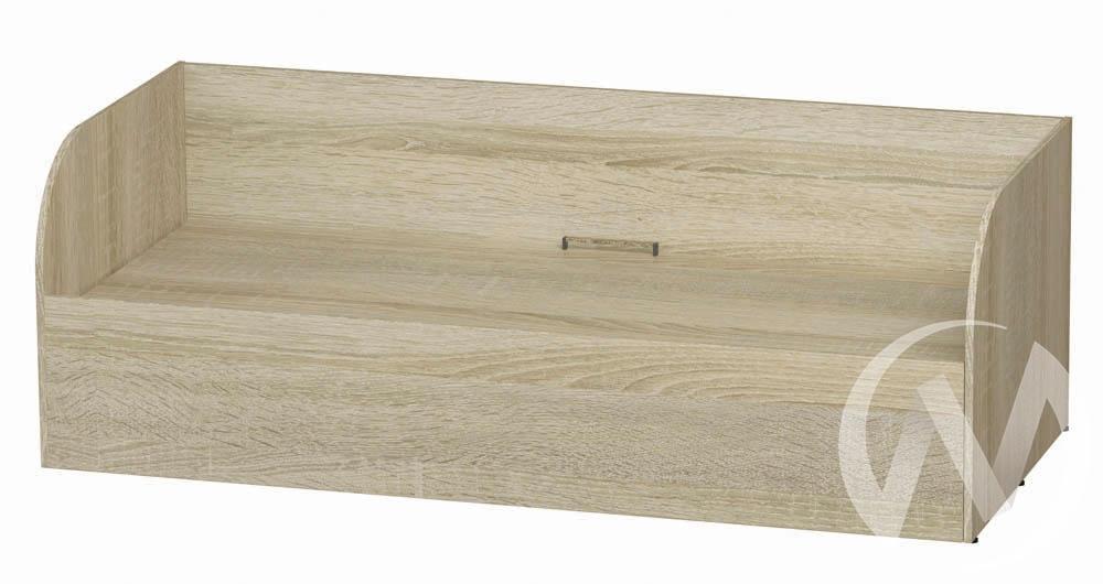 Кровать детская с подъемным механизмом КРП-01 Сенди (дуб сонома/дуб сонома)