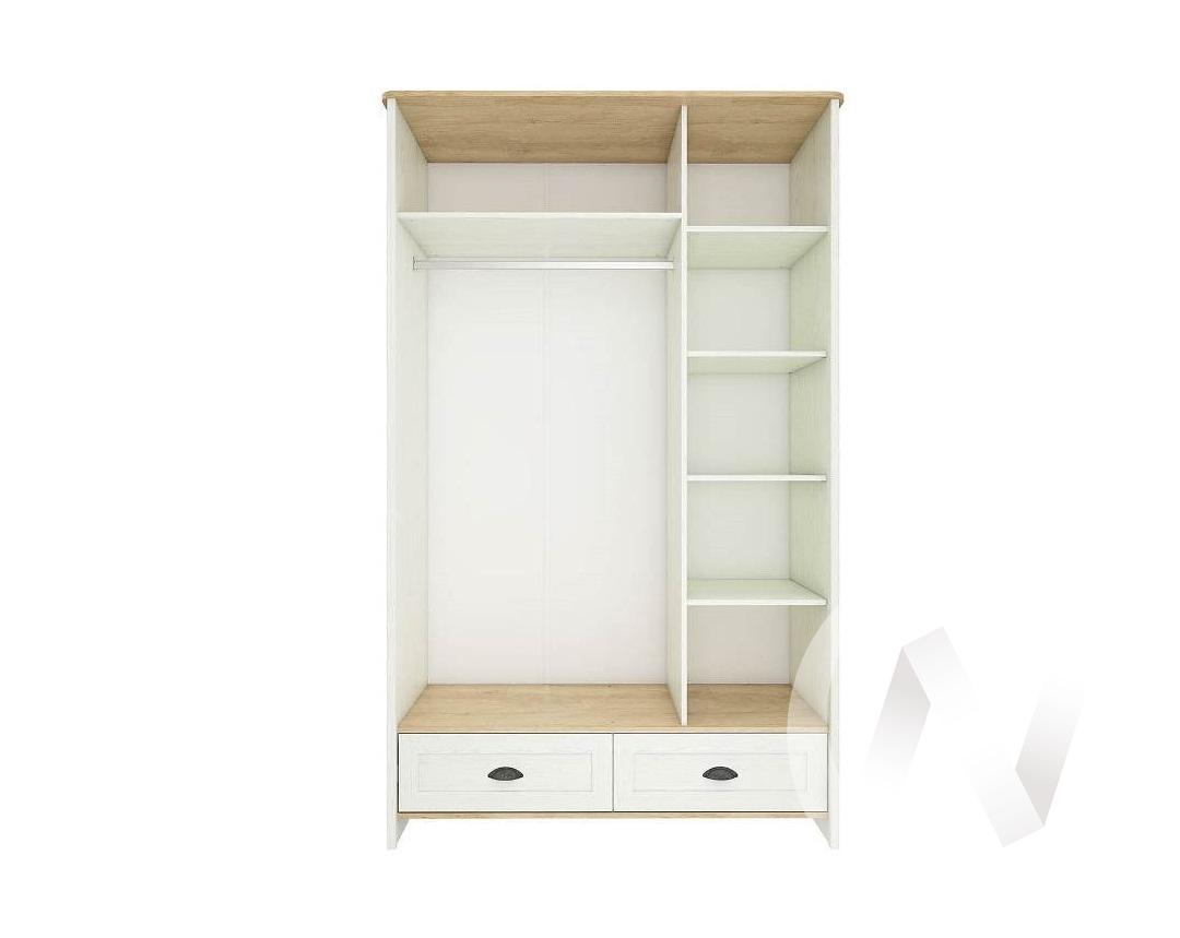 """Шкаф 3-х дверный с ящиками """"Тифани"""" СТЛ.305.02 (Дуб небраска/Белый)"""
