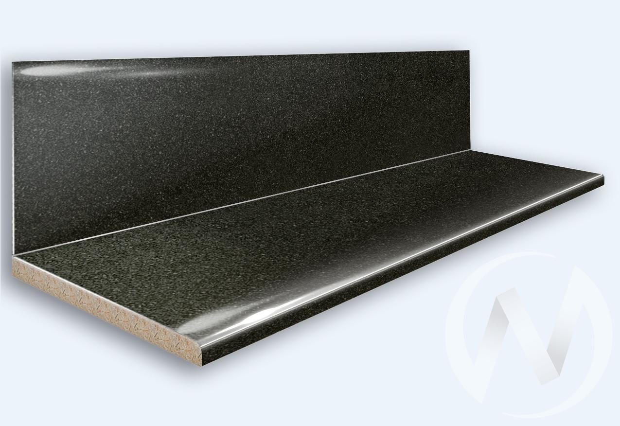 Столешница 3000*600/38мм (№ 21г черное серебро)