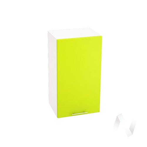 "Кухня ""Валерия-М"": Шкаф верхний 400, ШВ 400 (лайм гленец/корпус белый)"