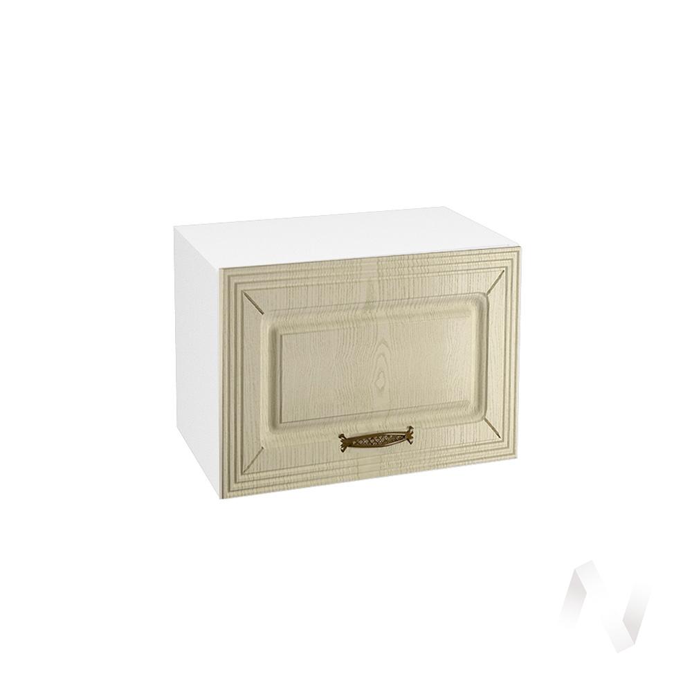 """Кухня """"Изабель"""": Шкаф верхний горизонтальный 500, ШВГ 500 (корпус белый)"""