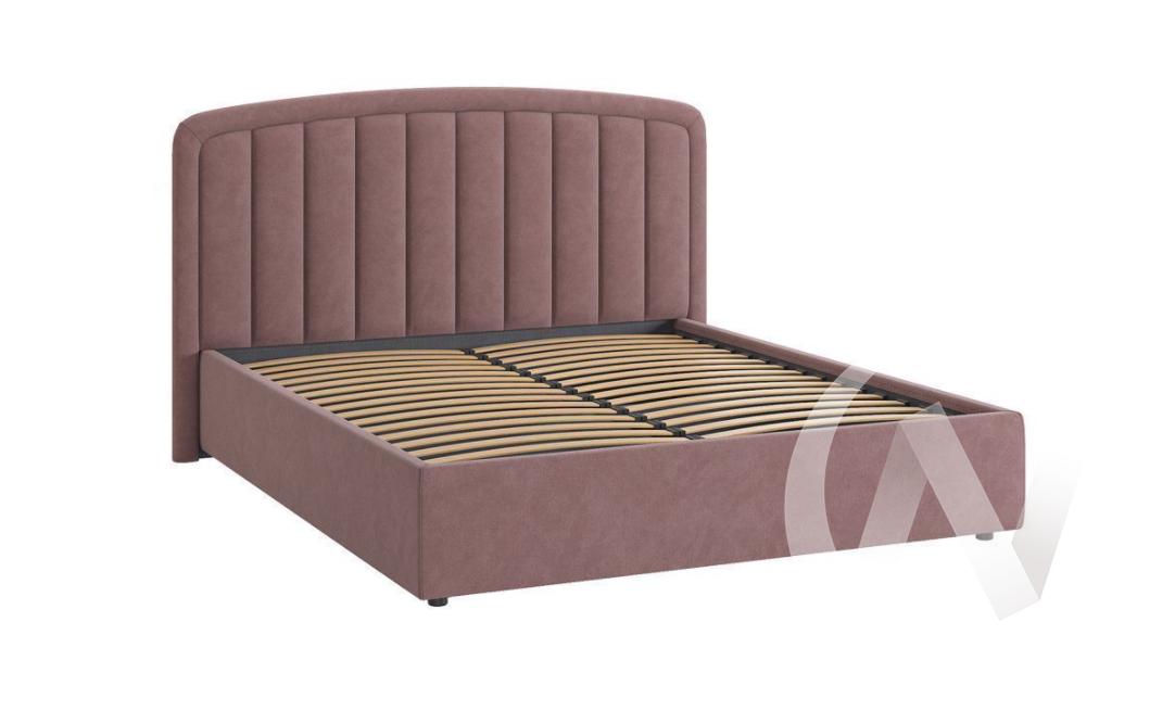 """Кровать мягкая 1,6 с подъемным механизмом """"Сиена-2"""" (Пудра)"""