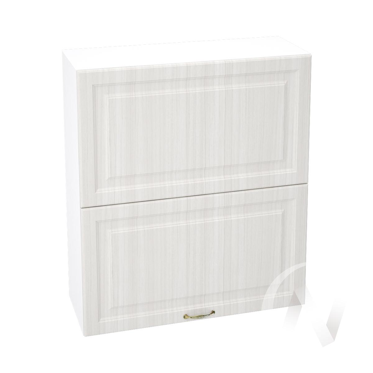 """Кухня """"Виктория"""": Шкаф верхний горизонтальный 802, ШВГ 802 (корпус белый)"""