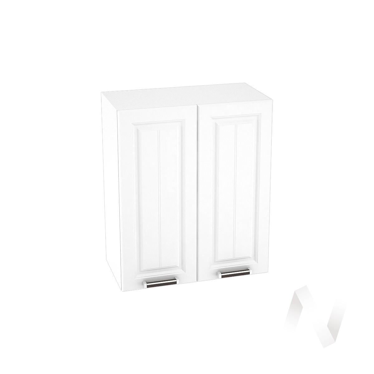 """Кухня """"Прага"""": Шкаф верхний 600, ШВ 600 новый (белое дерево/корпус белый)"""