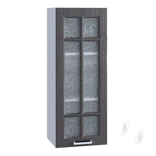 "Кухня ""Луксор"": Шкаф верхний 309, ШВС 309 (Клён серый/корпус белый)"