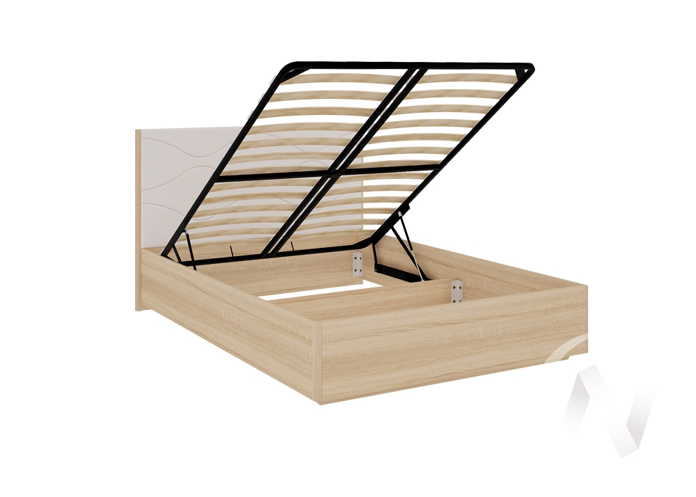 """Кровать с подъемным механизмом 1,4 """"Зара"""" (Люкс)"""