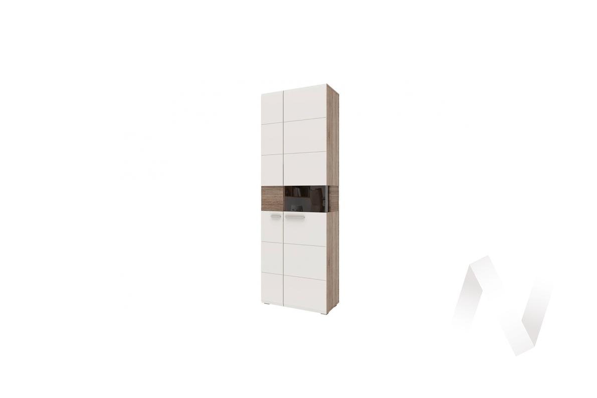 """Шкаф-витрина """"Филадельфия"""" СТЛ.263.01 (Дуб сонома трюфель/Латте)"""