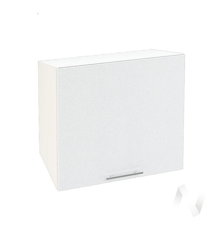 "Кухня ""Валерия-М"": Шкаф верхний горизонтальный 509, ШВГ 509 (белый металлик/корпус белый)"