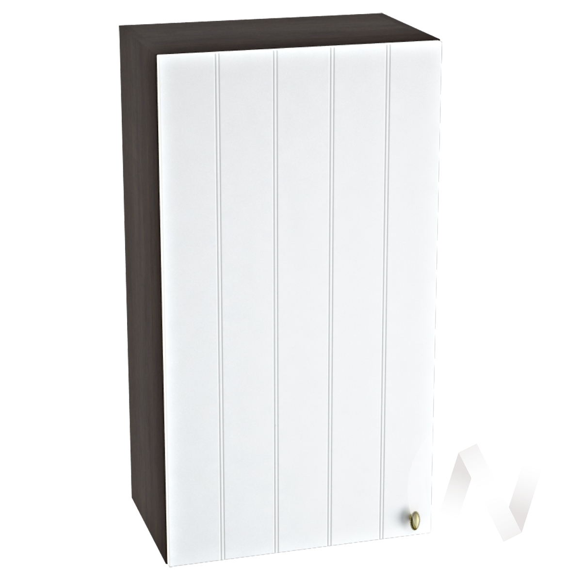 "Кухня ""Прованс"": Шкаф верхний 509, ШВ 509 (белое дерево/корпус венге)"