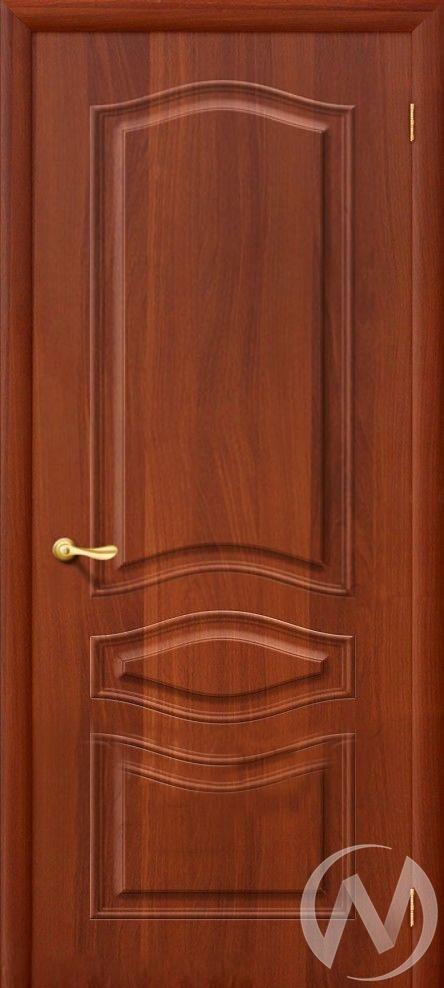 Дверь ПВХ Тип Леона, 60, глухая, итальянский орех