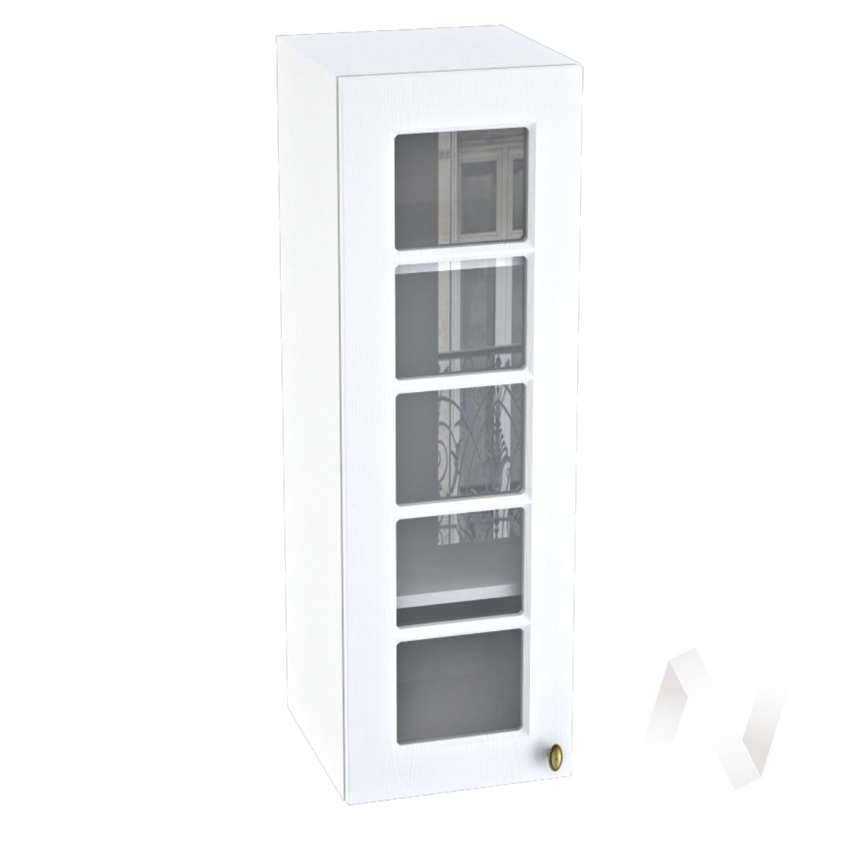 "Кухня ""Прованс"": Шкаф верхний 309, ШВC 309 (белое дерево/корпус белый)"