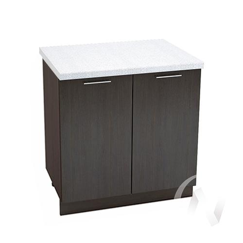 """Кухня """"Валерия-М"""": Шкаф нижний 800, ШН 800 новый (венге/корпус венге)"""