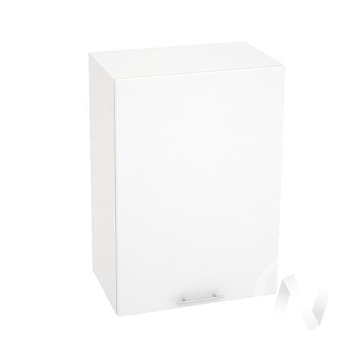"Кухня ""Валерия-М"": Шкаф верхний 500, ШВ 500 (белый глянец/корпус белый)"