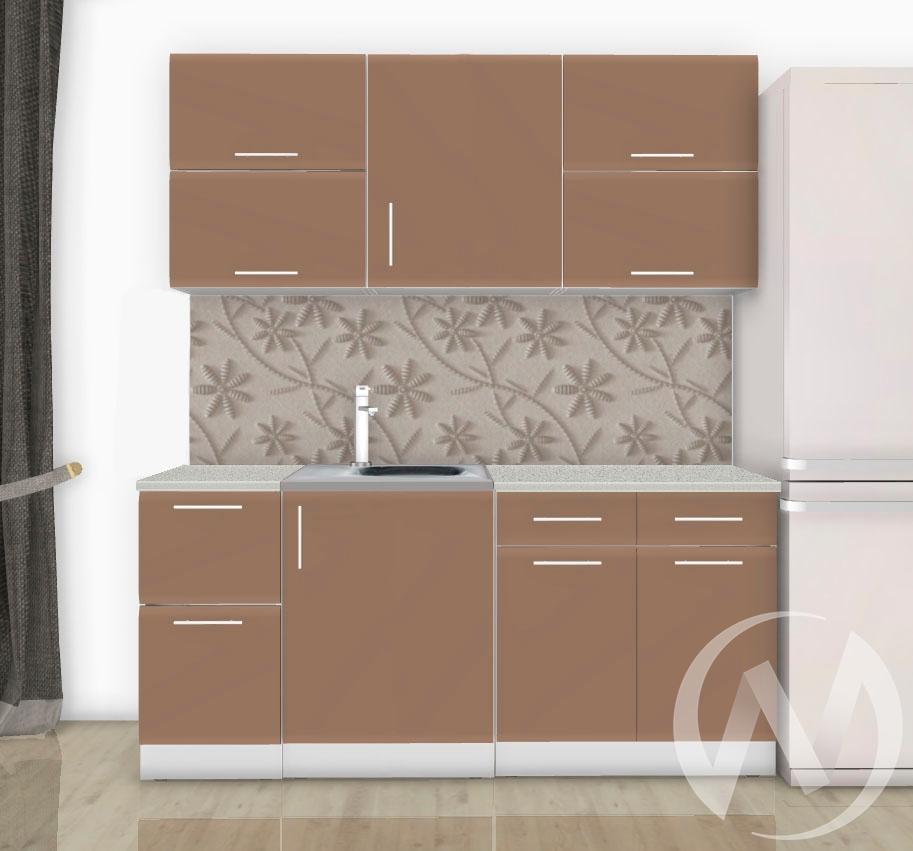 Кухня Люкс шоколад матовый 1,8 №5  в Новосибирске - интернет магазин Мебельный Проспект