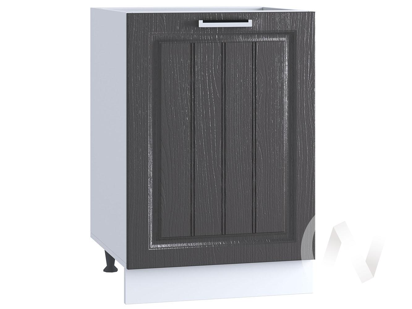 "Кухня ""Луксор"": Шкаф нижний 500, ШН 500 (Клен серый/корпус белый)"
