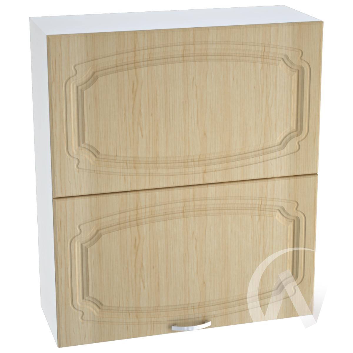"""Кухня """"Настя"""": Шкаф верхний горизонтальный 802, ШВГ 802 (Береза/корпус белый)"""