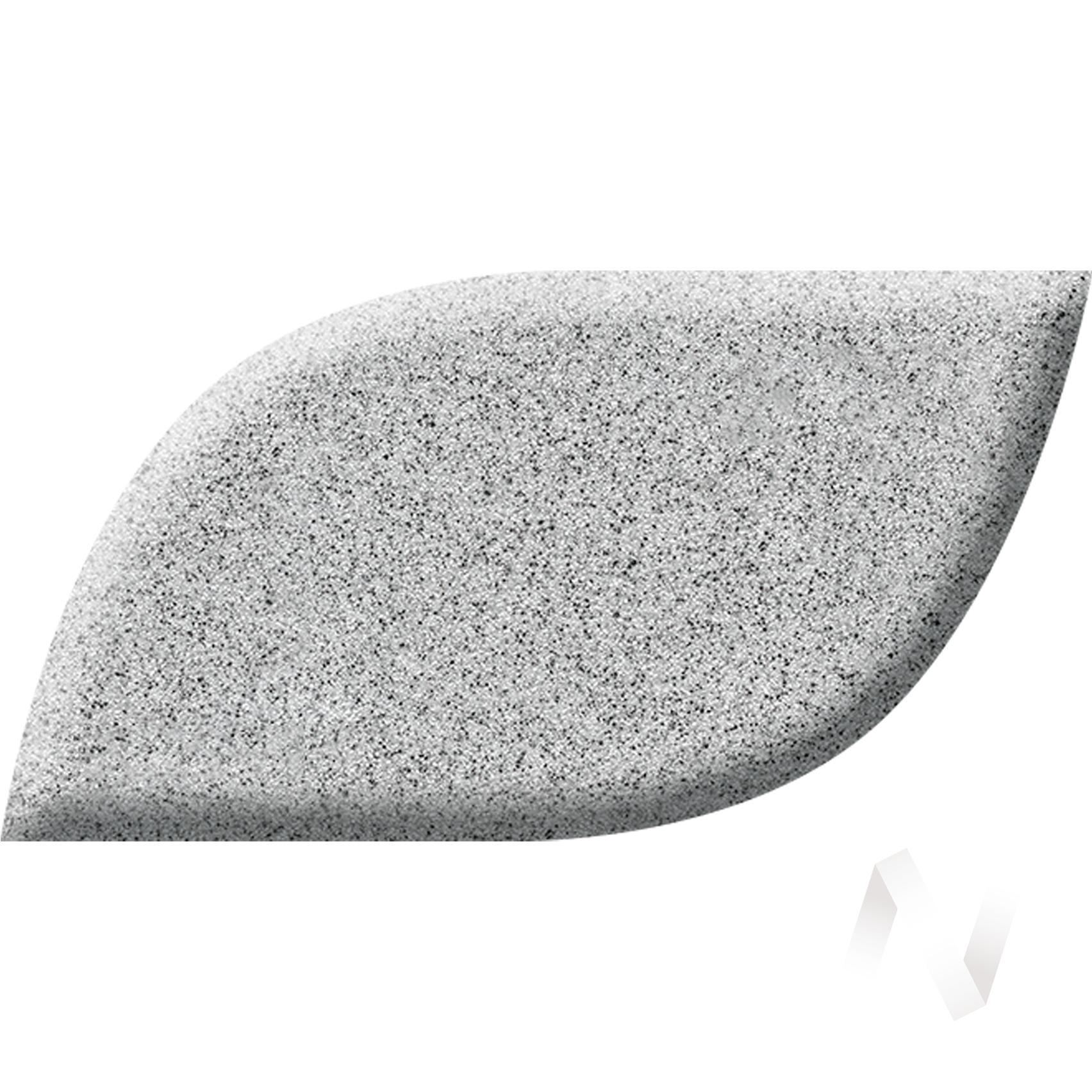 Мойка из искусственного камня Light 2 без сифона (серый)  в Томске — интернет магазин МИРА-мебель