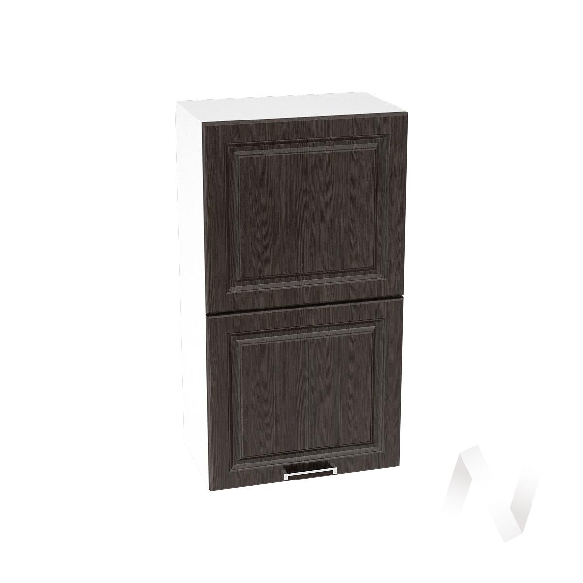 """Кухня """"Прага"""": Шкаф верхний горизонтальный 502, ШВГ 502 (венге/корпус белый)"""