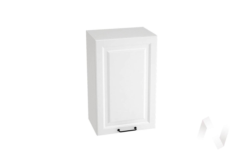 "Кухня ""Ницца Royal"": Шкаф верхний 450, ШВ 450 (Blanco/корпус белый)"