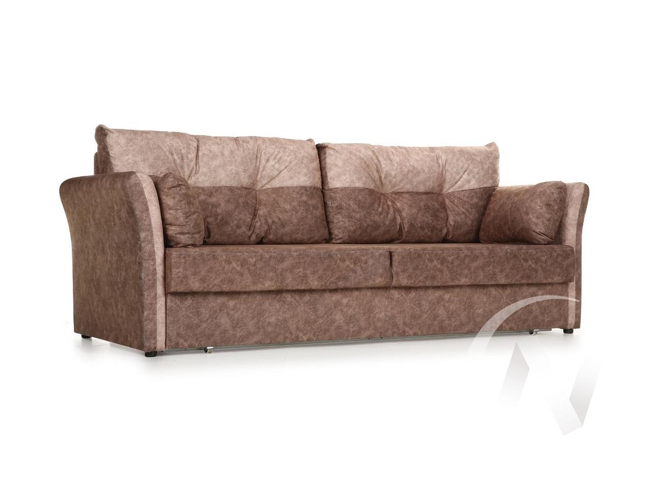"""Диван-кровать """"Римейк"""" (01), (Jaguar brown/Jaguar beige)"""