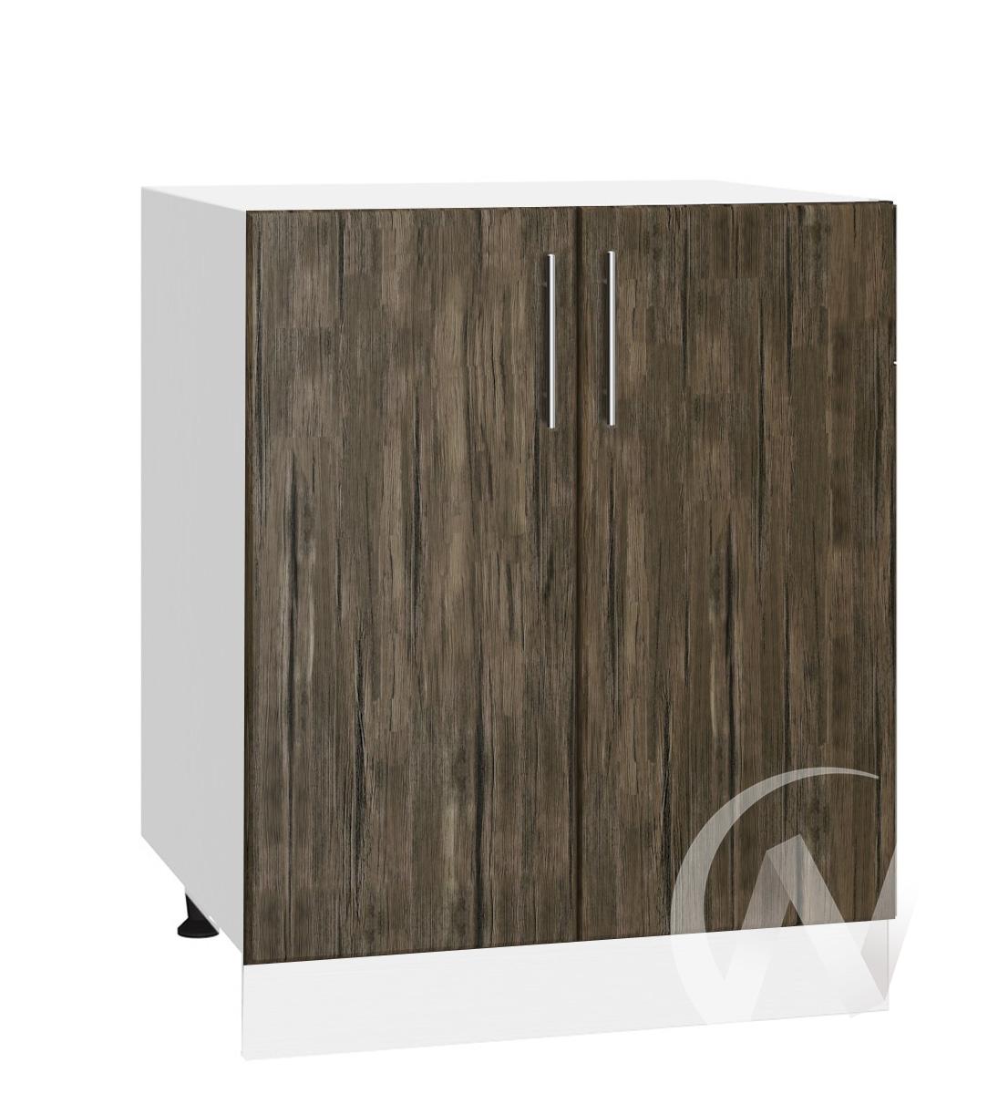 """Кухня """"Норден"""": Шкаф нижний 600, ШН 600 новый (старое дерево/корпус белый)"""