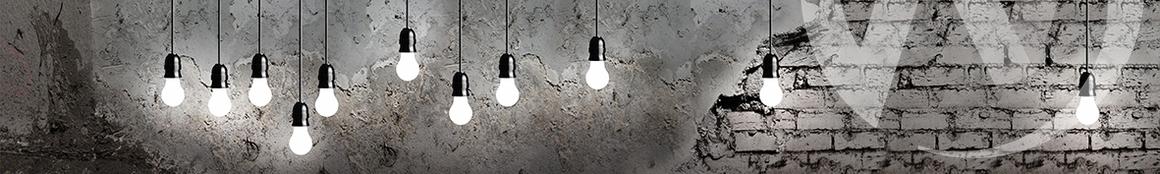 Панель декоративная ХДФ 610*2440*3,2 Лампочки ФФ (450)  в Новосибирске - интернет магазин Мебельный Проспект