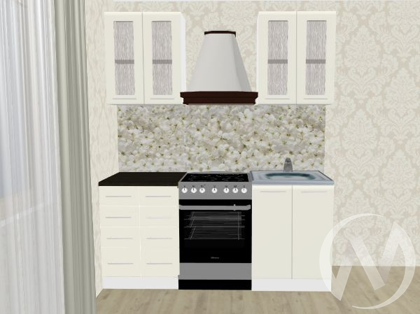 Кухня Магнолия матовая 1,2№1