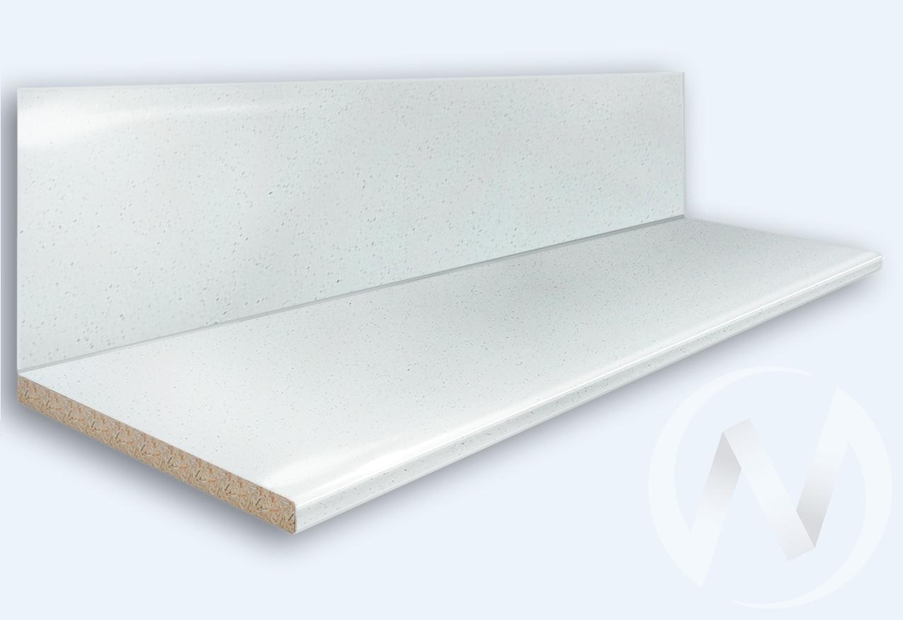 Столешница 3000*600/38мм (№ 55гл белая)