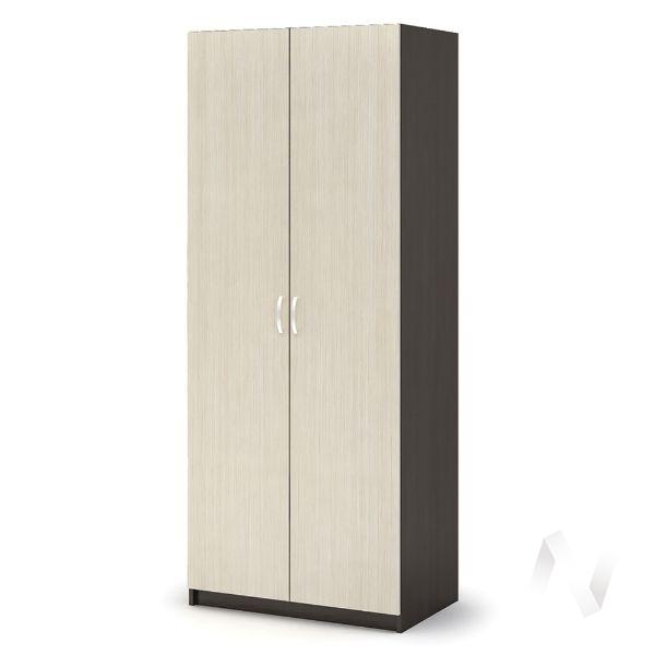 Шкаф с перегородкой ШК 556 Спальня Бася (венге/белфорт)