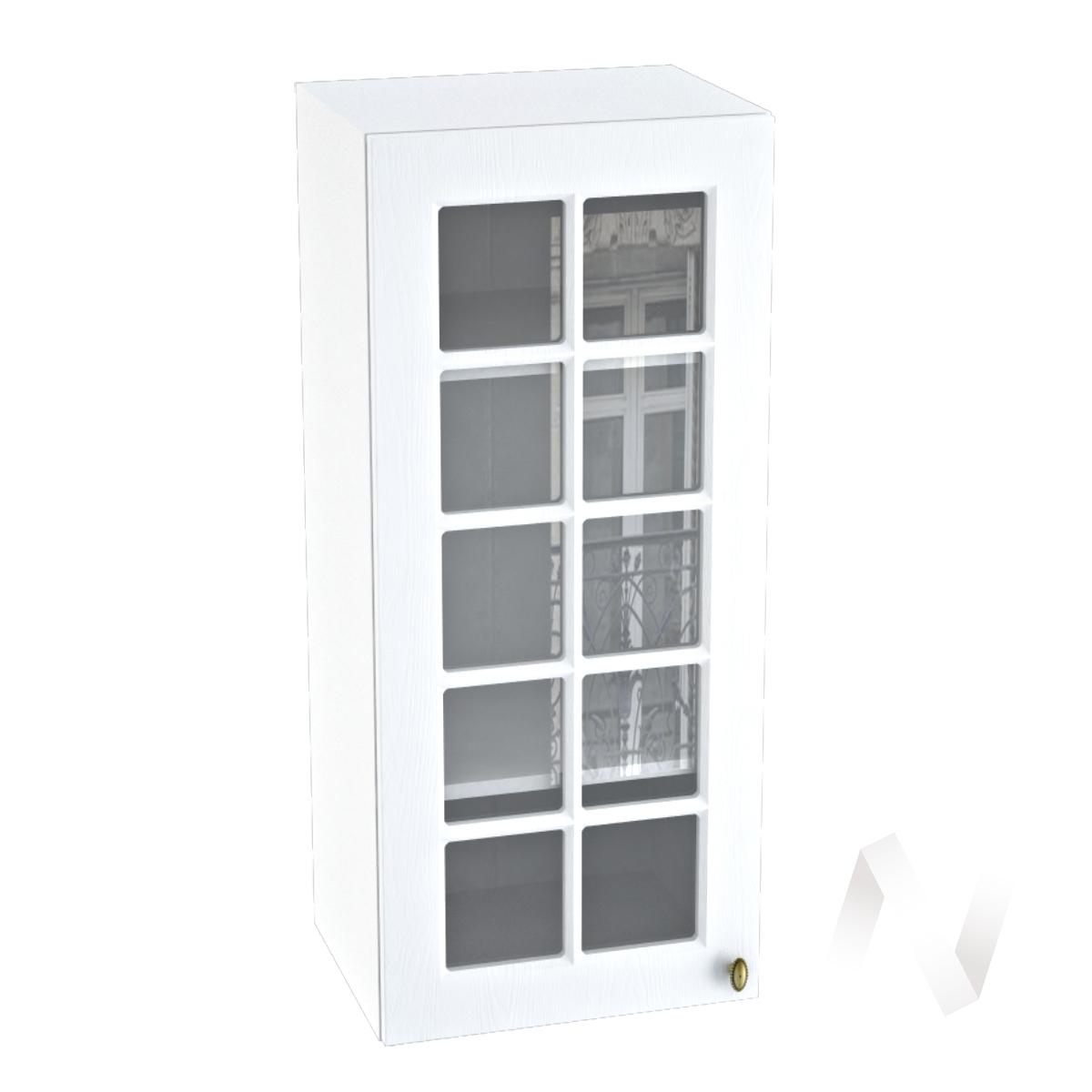 "Кухня ""Прованс"": Шкаф верхний 409, ШВC 409 (белое дерево/корпус белый)"