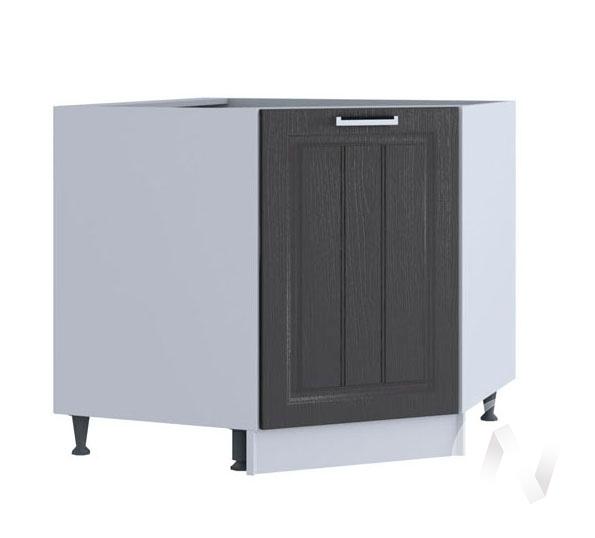 "Кухня ""Луксор"": Шкаф нижний угловой 890, ШНУ 890 (Клен серый/корпус белый)"