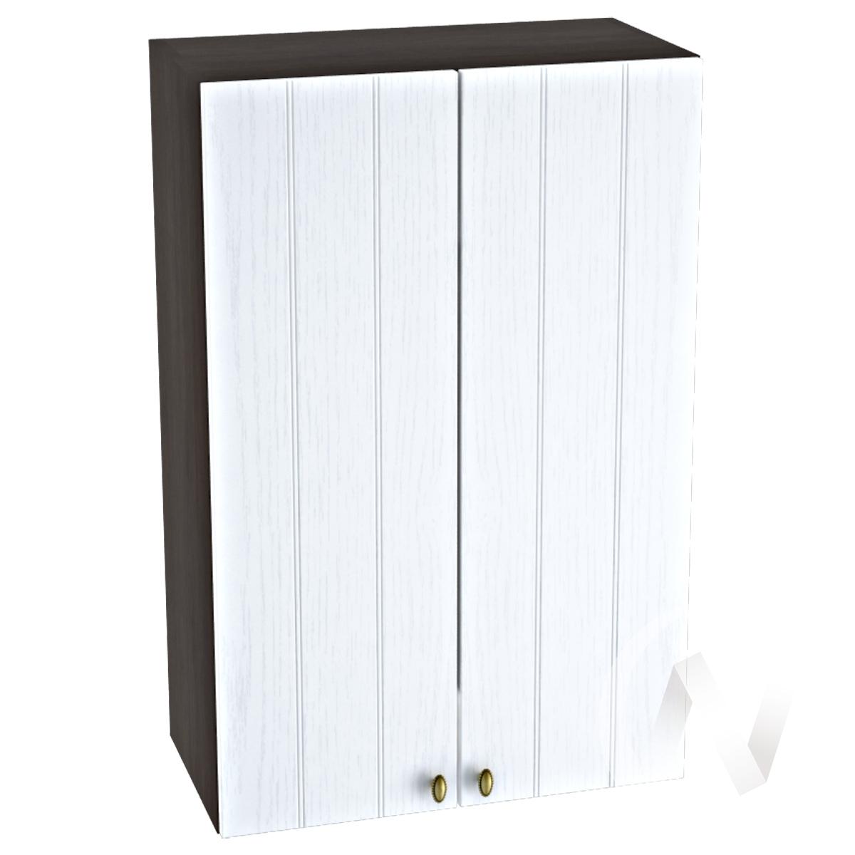 "Кухня ""Прованс"": Шкаф верхний 609, ШВ 609 (белое дерево/корпус венге)"