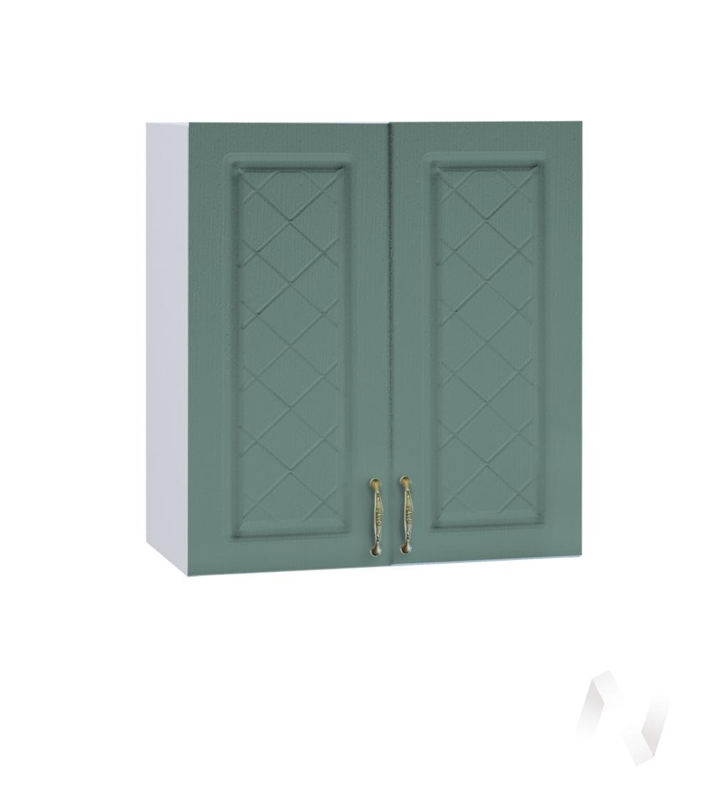 """Кухня """"Селена"""": Шкаф верхний 600, ШВ 600 новый (Дуб бирюзовый/корпус белый)"""
