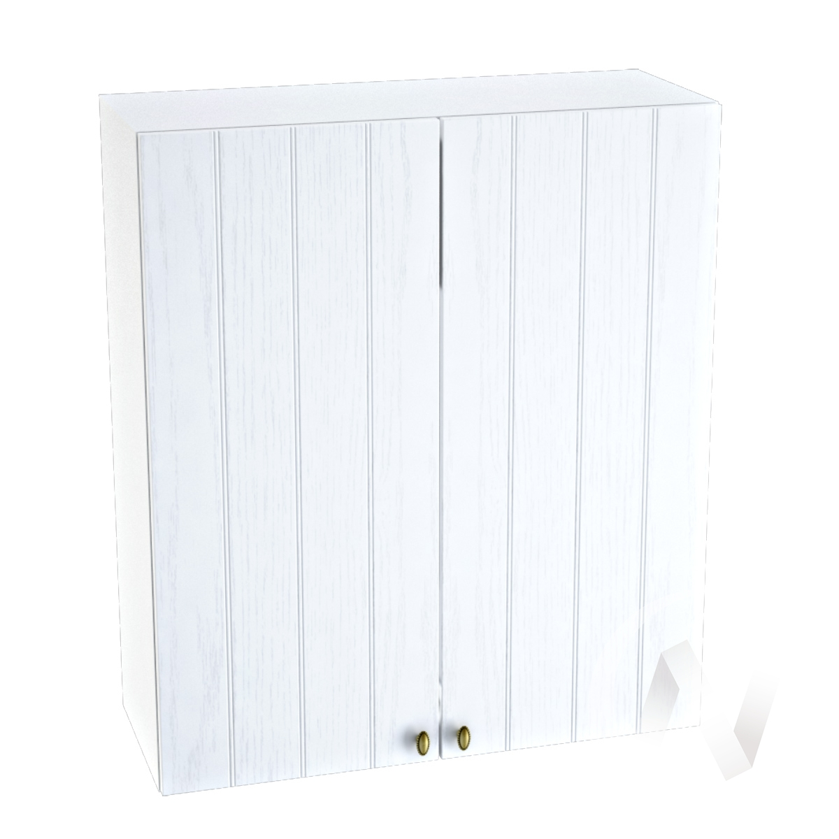"Кухня ""Прованс"": Шкаф верхний 809, ШВ 809 (белое дерево/корпус белый)"