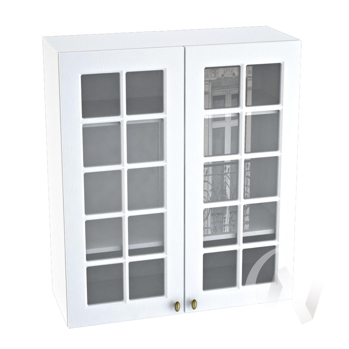 """Кухня """"Прованс"""": Шкаф верхний 809, ШВC 809 новый (белое дерево/корпус белый)"""