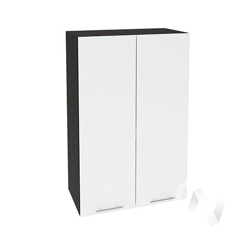 """(2)Кухня """"Валерия-М"""": Шкаф верхний 609, ШВ 609 (белый глянец/корпус венге)"""
