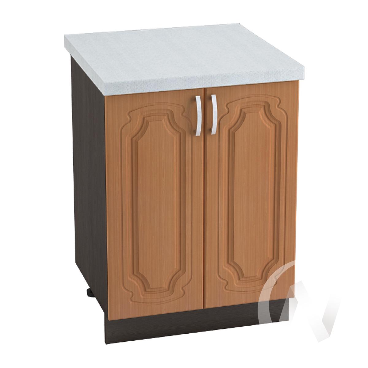 """Кухня """"Настя"""": Шкаф нижний 600, ШН 600 новый (Орех миланский/корпус венге)"""