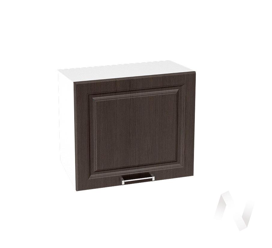 """Кухня """"Прага"""": Шкаф верхний горизонтальный 509, ШВГ 509 (венге/корпус белый)"""