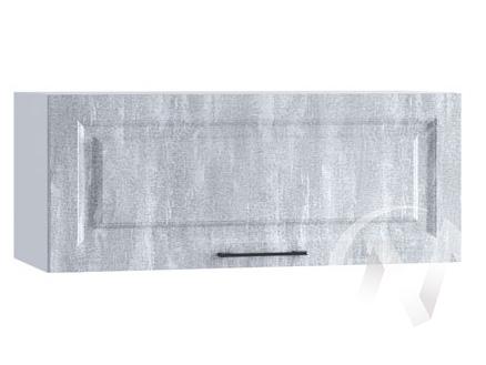 "Кухня ""Либерти"": Шкаф верхний горизонтальный 800, ШВГ 800 (Холст натураль/корпус белый)"