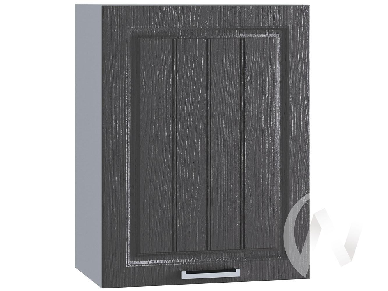 "Кухня ""Луксор"": Шкаф верхний 500, ШВ 500 (Клён серый/корпус белый)"