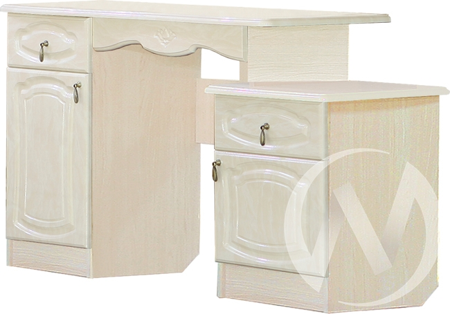 Валенсия Туалетный стол (бодега бежевый/клён)