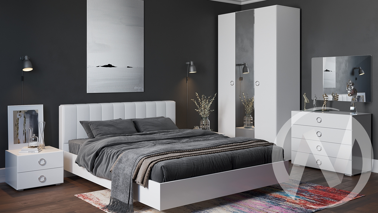 """Набор для спальни """"Глория"""" (продается помодульно)"""