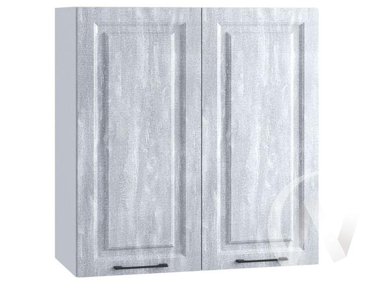 """Кухня """"Либерти"""": Шкаф верхний 809, ШВ 809 новый (Холст натуральный/корпус белый)"""