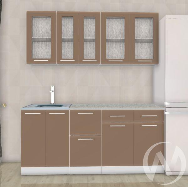 Кухня Люкс шоколад матовый 1,8 №6