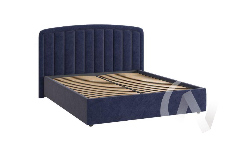 """Кровать мягкая 1,6 с подъемным механизмом """"Сиена-2"""" (Синий)"""