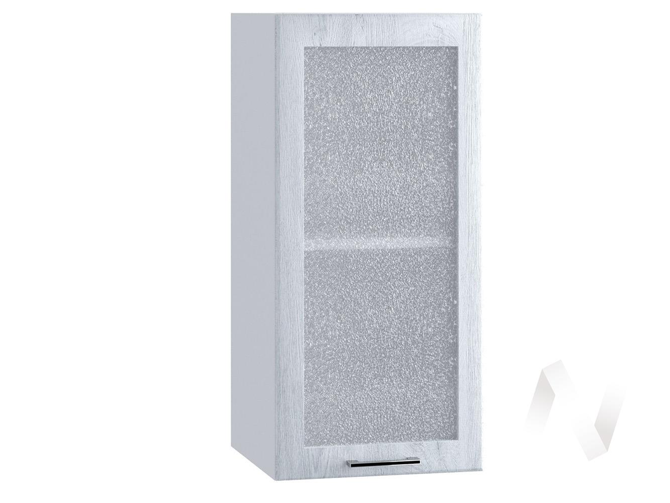 """Кухня """"Палермо"""": Шкаф верхний 300, ШВС 300 (Дуб остин серый/корпус белый)"""