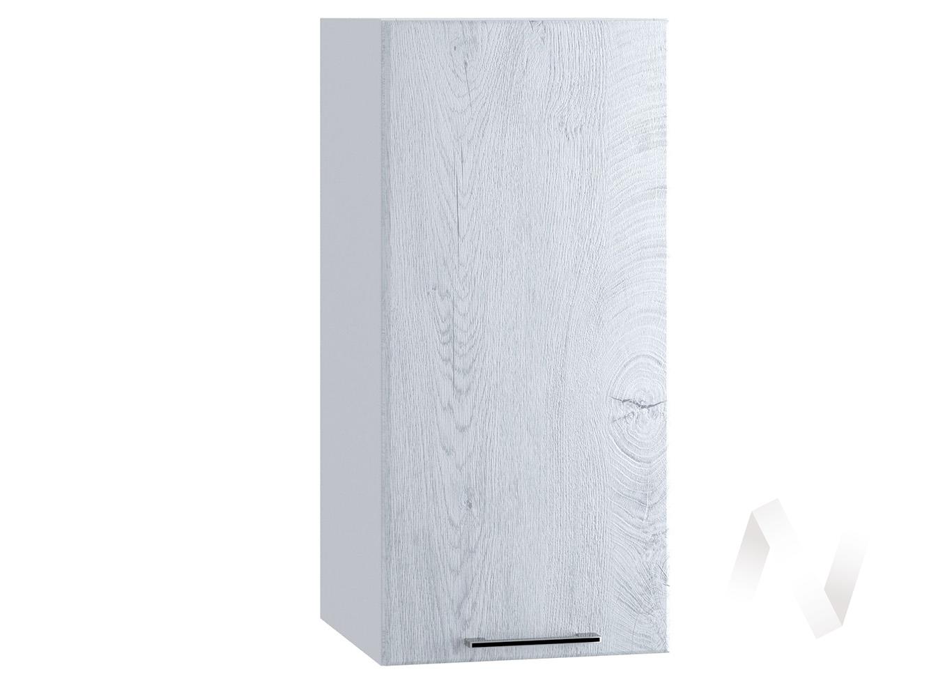 "Кухня ""Палермо"": Шкаф верхний 300, ШВ 300 (Дуб остин серый/корпус белый)"